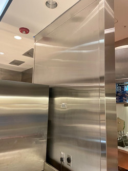 Stainless Steel Walls