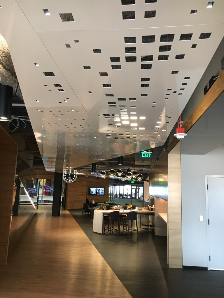 Custom Metal Suspended Ceiling