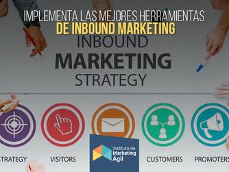 Implementa las mejores herramientas de Inbound Marketing