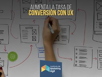 Aumenta la tasa de Conversión con UX