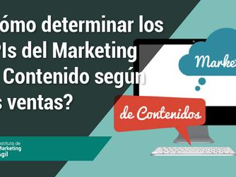 ¿Cómo determinar los KPIs del Marketing de Contenido según las ventas?