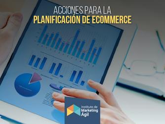 Acciones para la planificación de ecommerce