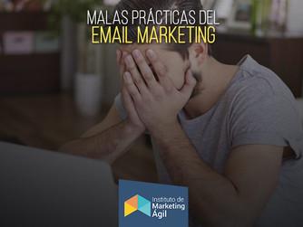 Malas Prácticas del Email Marketing