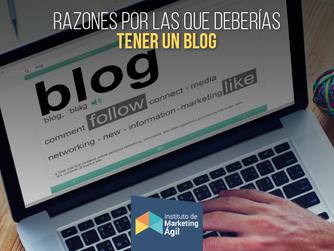 Razones por las que deberías tener un blog profesional