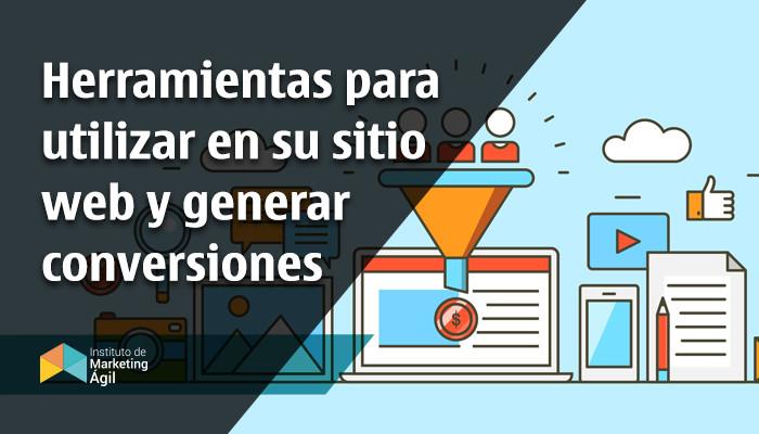 AMI - Herramientas para utilitzar en sitios web y generar conversiones