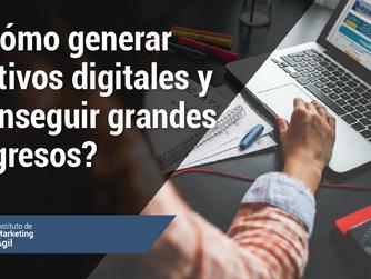 ¿Cómo generar activos digitales y conseguir grandes ingresos?