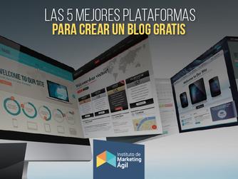 Las 5 mejores plataformas para crear un blog