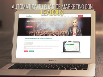 Automatiza tu plan de marketing con Leadsius