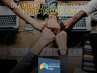 Crea un equipo virtual y gestiona tus proyectos con SCRUM