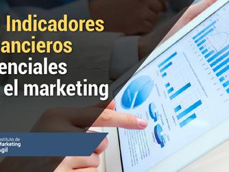 10 Indicadores financieros esenciales en el marketing