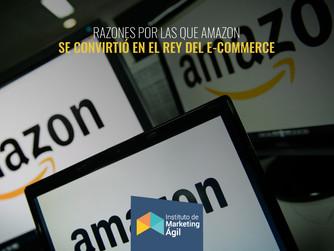 Razones por las que Amazon se convirtió en el Rey del E-Commerce