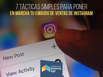 Tácticas para poner en marcha tu embudo de ventas en Instagram