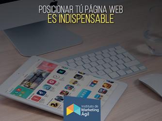 Posicionar tu página web es Indispensable