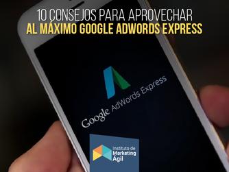 Consejos para aprovechar al máximo AdWords Express