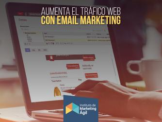 Aumenta el Tráfico Web con Email Marketing