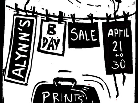 Birthday Sale and Give away