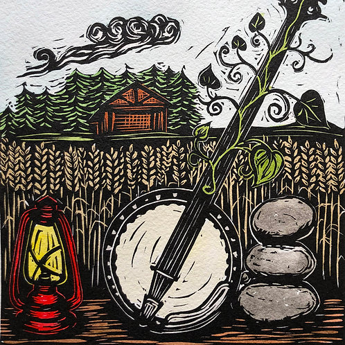 Banjo print