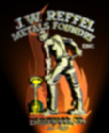 Reffel Metals Foundry Logo