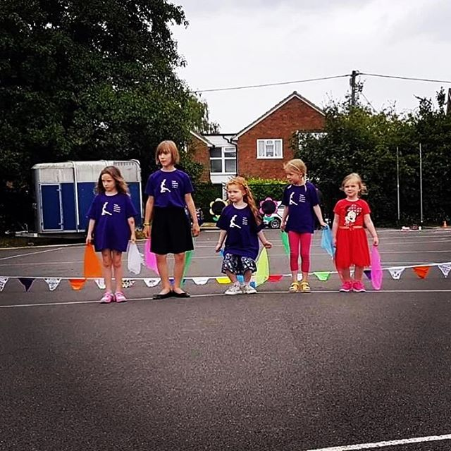 Well done to these little dancers who performed at Barns Green Primary School Fete