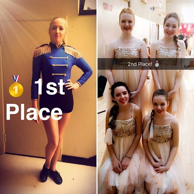VMA Dance Elite Team attended their first ever dance competition today