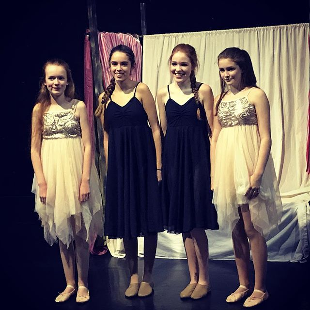 So proud of these girls who performed at The Capitol Theatre tonight as part of the Young Choreograp