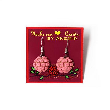 Concha Earrings by AngMir - Pink