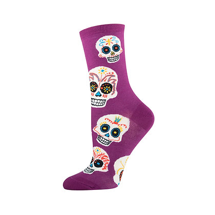 Sugar Skull Socks - Women's