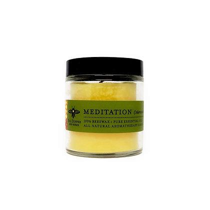 Beeswax Sanctuary Candle - 3.2 oz - Meditation
