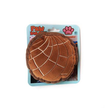 Chocolate Concha Dog Toy