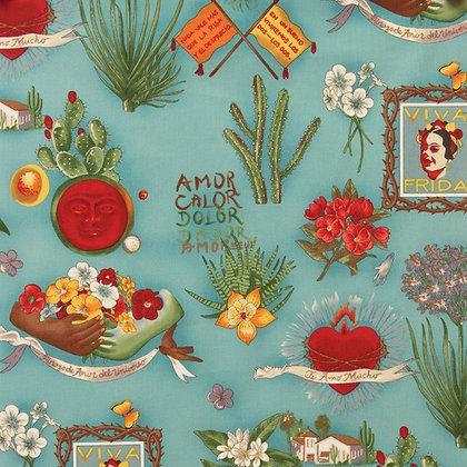 Viva Frida Fabric by the Yard