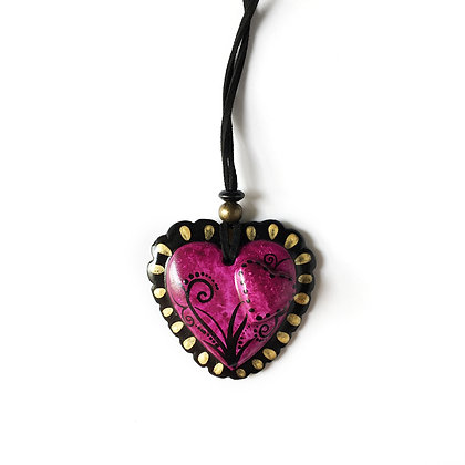 Mega Heart Pendant - Chic Collection