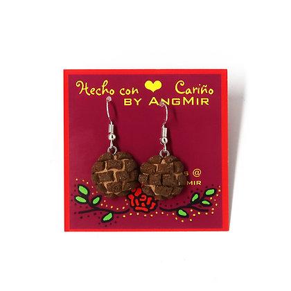 Concha Earrings by AngMir - Chocolate