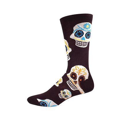 Sugar Skull Socks - Men's