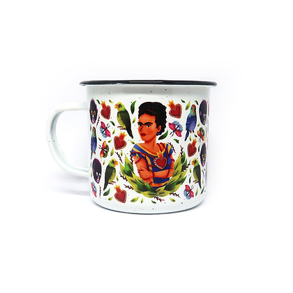 Peltre Mug - Frida Kahlo
