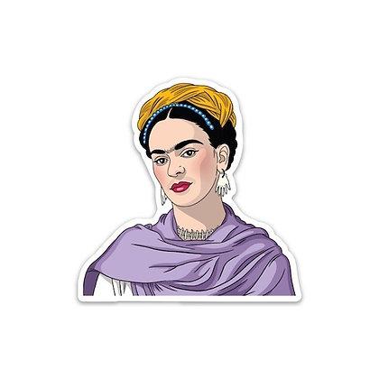 Frida Kahlo with Shawl Sticker