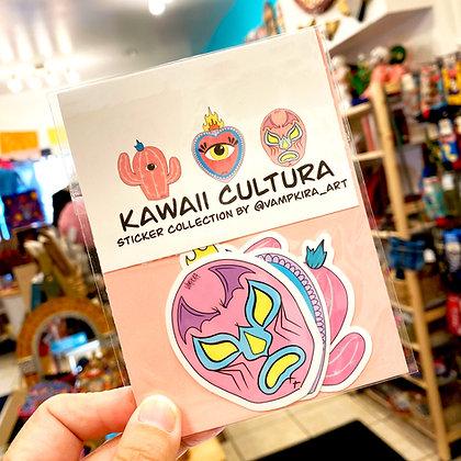 Kawaii Cultura - 3 Sticker Pack