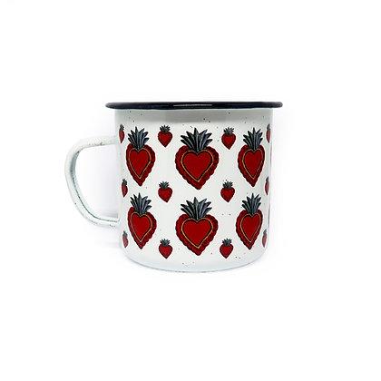 Peltre Mug - Corazon Red