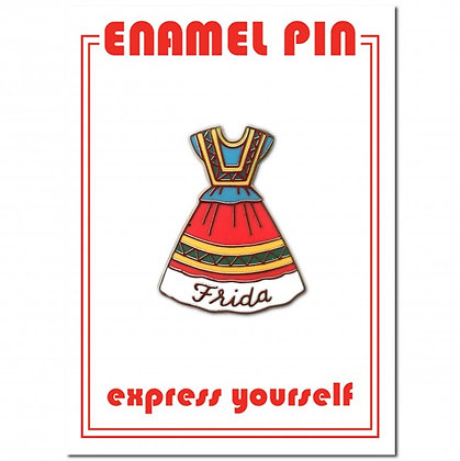 Frida Dress - Enamel Pin