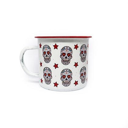 Peltre Mug - Sugar Skull