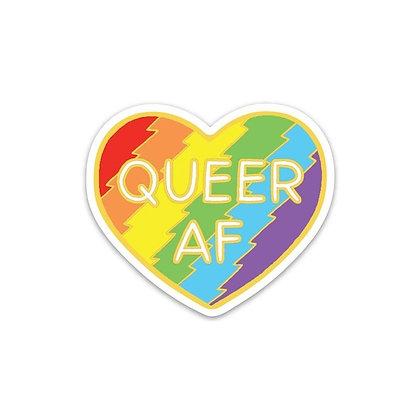 Queer AF Sticker