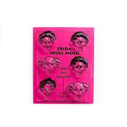 Frida Skull Mold