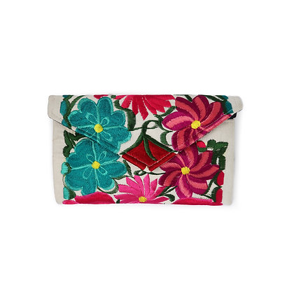 Fiesta Clutch Bag - Ivory