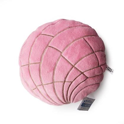 Strawberry Concha Pillow by Xochico Design