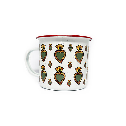 Peltre Mug - Corazon Green