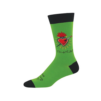 Frida Kahlo Heart - Men's Socks