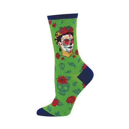 Frida Kahlo Dia de Muertos - Women's Socks