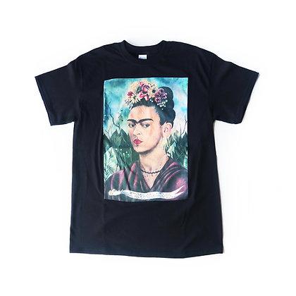 Frida Kahlo T-shirt - Black