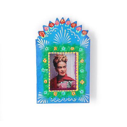 Frida Kahlo Nicho - Blue