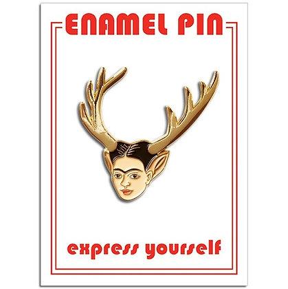 Frida Deer - Enamel Pin