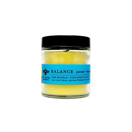 Beeswax Sanctuary Candle - 3.2 oz - Balance